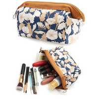 Waterproof Travel Cosmetic Bag Makeup Organizer Storage Pouch Cosmetic Toiletry Case Multifunction