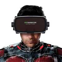VR Shinecon for Myopia Users Virtual Reality 3D Glasses with headset for 4.7-6.1 Inches Phones