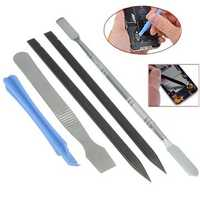 5 In 1 Metal Pry Repair Opening Tool Kit Set For Mobile Phone