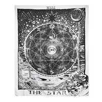 Indian Wall Hanging Tapestry Tarot Moon Sun Bedspread Bohemian Throw Cover Decorations