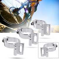 BIKIGHT 28.6/31.8/34.9mm Bike Front Transmission Alloy Braze Front Mech Derailleur Clamp