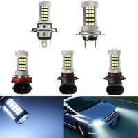 630LM 6000K White COB LED 9006 9005 H4 H7 H8/H11 Car Projector Fog Light Driving Light