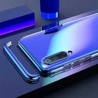 Bakeey 3 In 1 Detachable Elac-plating Transparent Hard PC Protective Case For Xiaomi Mi9 / Xiaomi Mi 9 Transparent Edition