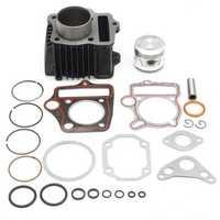 70cc Cylinder Piston Gasket Rings Motor Kit For ATV Honda ATC70 TRX70 4 Wheeler