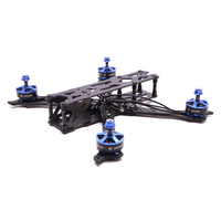 QX215 215mm Wheelbase Freestyle Frame Kit Arm 4mm for RC FPV Racing Drone