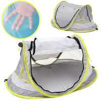 Pop Up Portable Beach Tent Kids Canopy Sun Shade Shelter Foldable Anti-UV Baby Travel Bed