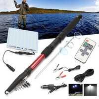 2000LM 96pcs COB LEDs Portable Telescopic Fishing Rod Light Outdoor Camping Travel Fishing Lamp