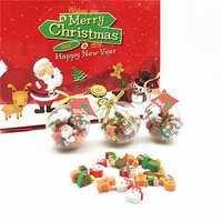 Creative Crystal Ball Shape Christmas Eraser Mini Eraser for School Stationery Home Gift