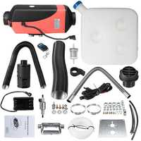 12V 8kw Diesel Air Parking Heater with 10L Fuel Tank Silencer & Remote Control