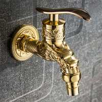 Mrosaa Zinc Alloy Antique Bronze Finish Faucet Water Tap Basin Taps