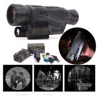 5X40 Infrared Dark Night Vision Monocular Camping Hiking Spotting Telescope