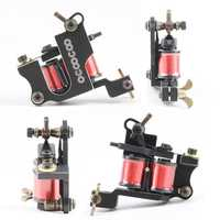 OCOOCOO T250A Professional Shader Tattoo Machine 8000 R/Minute Cast Iron Black