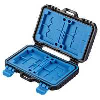 27 Card Slots Waterproof Shockproof Memory Card Storage Box Case Cover Organizer