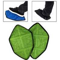 2Pcs/Pair Reusable Shoe Covers Outdoor Camping Indoor Portable Automatic Shoe Lid