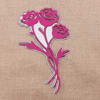 Roses Flower Metal Scrapbook Photo Album Paper Work Craft DIY Cutting Dies