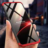 Bakeey™ 3 in 1 Double Dip 360° Hard PC Protective Case For iPhone XR