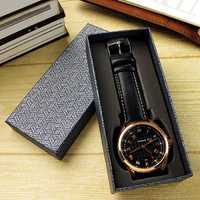 Original 1pcs Black Watch Box Watch Accessories Gift Box