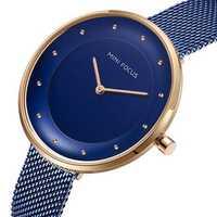 MINI FOCUS MF0179L Full Steel Luxury Women Wrist Watch