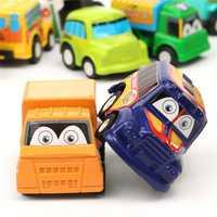 6Pcs Mini Small Classic Toddlers Boy Girl Truck Vehicle Kids Children Pull Back Models Car Truck Vehicle Toys