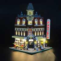 LED Light Lighting Kit ONLY For Lego 10182 Cafe Corner Street Building Light For Blocks Toys