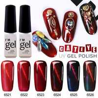 5D Red Magnetic Nail Gel Polish