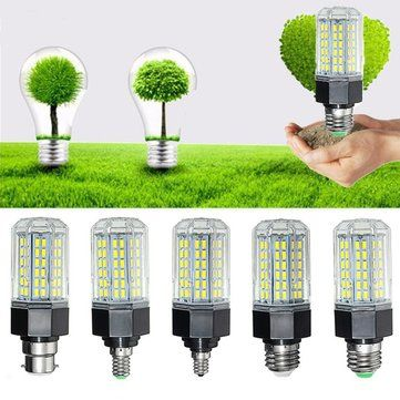 E27 E26 E12 E14 B22 12W 5730 SMD Non Dimmable LED Corn Light Lamp Bulb AC110 265V