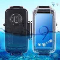 40m Diving Anti-pressure Anti-explosion Shockproof Waterproof Case For Samsung Galaxy S9/Galaxy S9 Plus