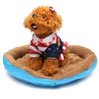 Warm Pet Dog Cat Bed Nest Puppy Cozy Plush Cushion House Soft Warm Kennel Mat Blanket