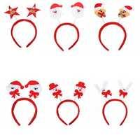 Festival Decor Christmas Headwear Mixed Style Xmas Headbrand Hair Accessory