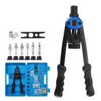 M3-M12 Riveter Tools Set Nut Riveting Screw Kits Rivnut Nutsert Insert Accessories