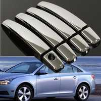 8Pcs Set of Handle Cover Handle Shell for Chevy Malibu Cruze Traverse Saturn Aura GMC Terrain