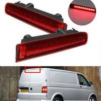 Barn Door LED High Mount Stop Lamp 3rd Third Brake Light Red for VW T5 T6 2003-2016 7E0945097E 7E0945097H
