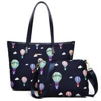 Women Nylon Waterproof Large Capacity Handbag Crossbody Bag