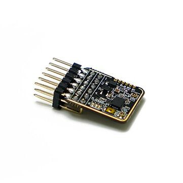 QFU US$28.07 FrSky RX6R 2.4G 6/16 CH Telemetry Receiver PWM SBUS Outputs for RC Drone FPV Racing