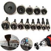 13pcs 16-53mm HSS Hole Saw Cutter 16/18/20/22/25/26/28/30/35/40/45/50/53mm Hole Saw Drill Bits Set