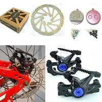 RAMBOMIL Road Mountain Bike Bicycle Cycling Brake Disc F-1 Front Rear Wheel Brake Disc Rotor Kit
