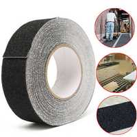 5CM x 18M Black Anti Slip Tape Wear-resistant Non-slip Tape For Stairs Decking Strips