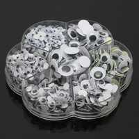 700Pcs 7Sizes Sticker Wobbly Giant Googly 3D Eyes Toy DIY Scrapbooking Children Kids Doll Handicraft