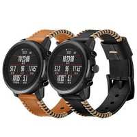 Bakeey AMAZFIT Huami Intelligent Sports Watch Stratos 1/2 First layer Leather Cowhide Watch Band
