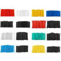580Pcs Heat Shrink Tubing Insulation Tube 2:1 Shrinkable Wire Cable Sleeve Kit