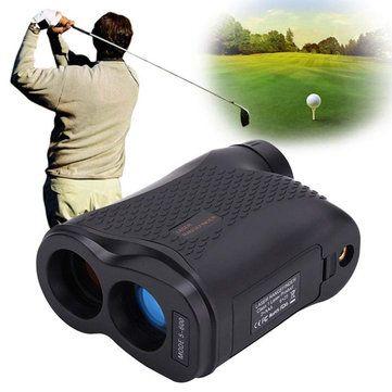 600m 6X Laser Distance Meter Waterproof Hunting Golf Portable Rangefinder Distance Measuring