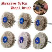 80-600 Grit Abrasive Nylon Wheel Brush Wood Working Polishing Grindering Wheel