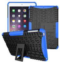 Heavy Duty Heat Dissipation Kickstand Textured Case For iPad Mini 1/2/3