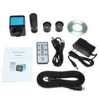 16MP 1080PUSB C-Mount Digital Industry Video Microscope Camera Zoom Lens
