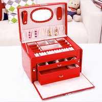 Portable Makeup Cosmetic Case
