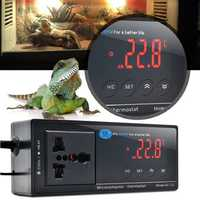 Digital LED Temperature Controller Thermostat for Aquarium Reptile 110/220V