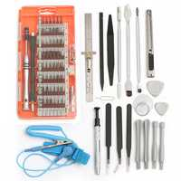 80 In 1 Screwdriver Repair Opening Tools Kit Pry for Pad Mobile Phone 3 Colors