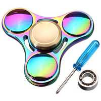 ECUBEE Colorful Fidget Spinner Hand Spinner Reduce Stress Gadget Only $1.2 With Code EUBEEUS
