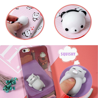 Bakeey™ Cartoon 3D Squishy Squeeze Slow Rising Cat Panda Soft TPU Case for iPhone 6 6s& 6Plus 6sPlus