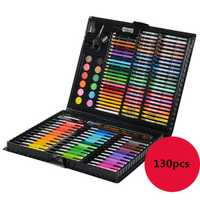 130pcs Painting Box Set Children's Drawing Marker Pen Animation Sketch Markers For Artist Manga